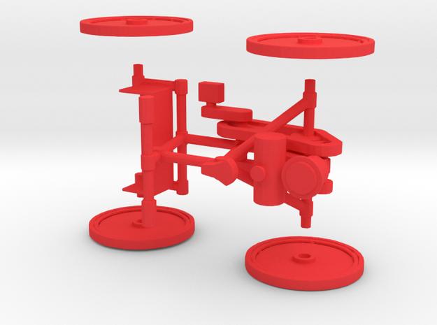 Quadricycle 3d printed