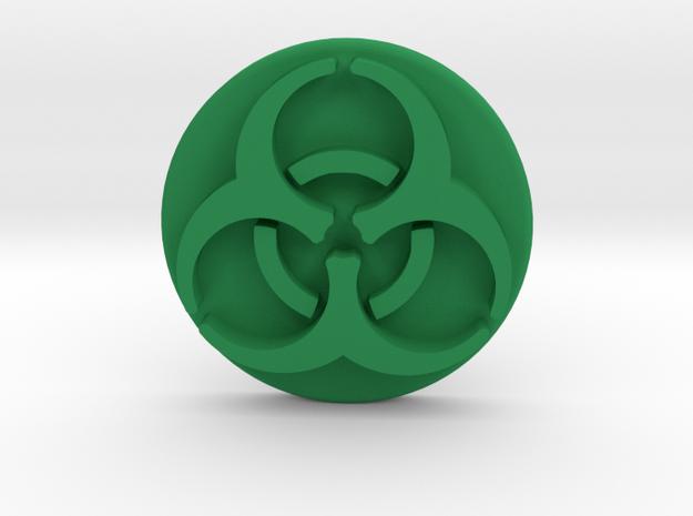 Pandemic Infection Marker -- Biohazard Symbol