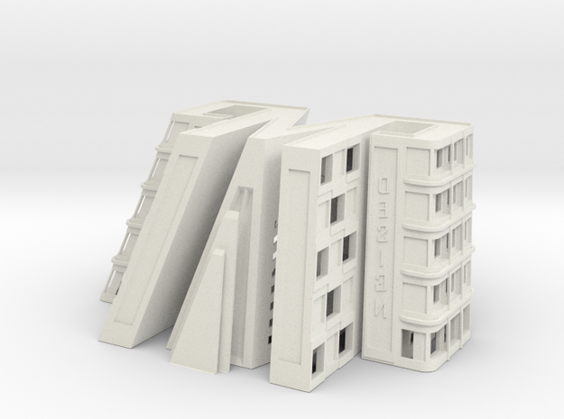 3D printed office building 3d printed