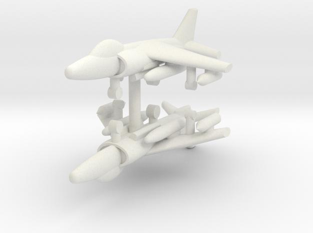 1/285 GR.9 Harrier (x2) in White Natural Versatile Plastic
