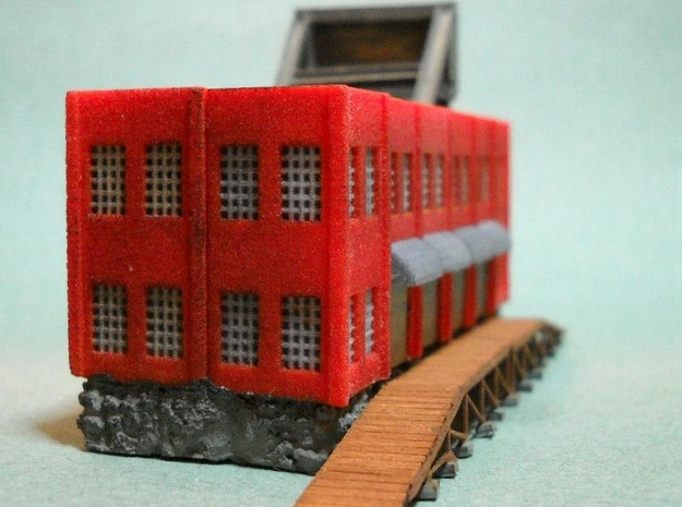 Factory Doors - Z scale 3d printed Photo thanks to Thom Welsch