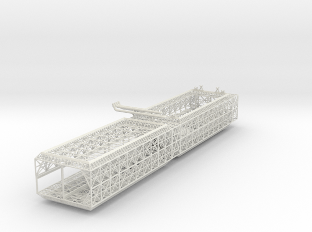 Fuel Module A Fwd Double V0.4c (repaired) in White Natural Versatile Plastic