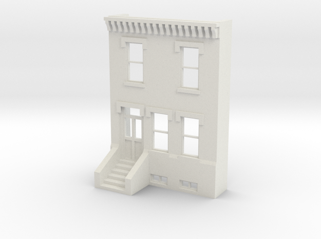 HO SCALE ROW HOME FRONT 2S