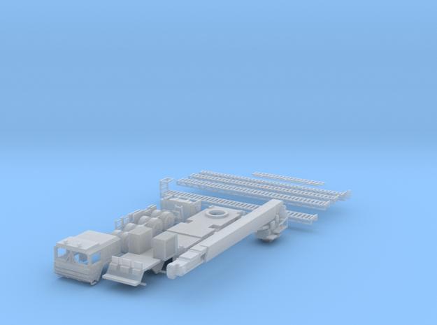 Teleskopmastfahrzeug (TMF) Flughafen Feuerwehr Stu in Smooth Fine Detail Plastic