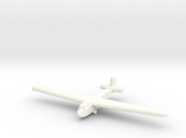 DFS-230 Glider-1/285 Scale- (Qty.1) Germany in White Processed Versatile Plastic