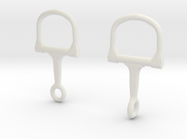 Stirrup Saddle in White Strong & Flexible