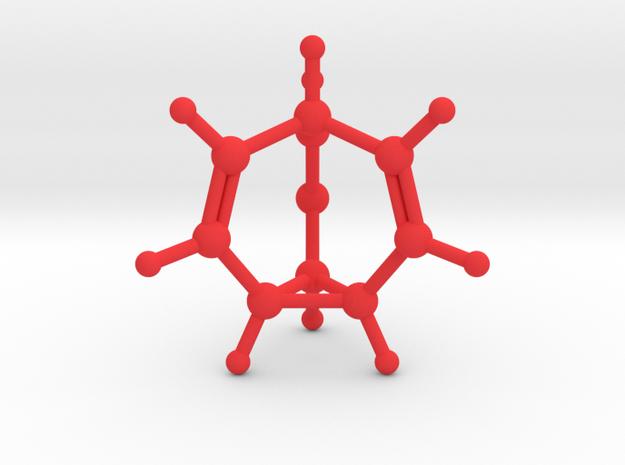 Bullvalene in Red Processed Versatile Plastic