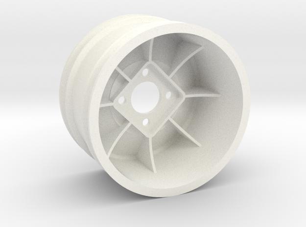 """ZC-825 2.125"""" (1pcs) in White Processed Versatile Plastic"""