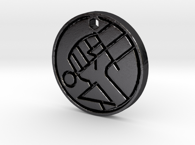 Hellboy BPRD Logo Necklace Replica