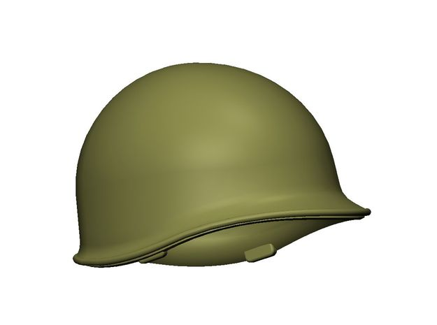 M1 Helmet (set of 10) 1-35 Scale