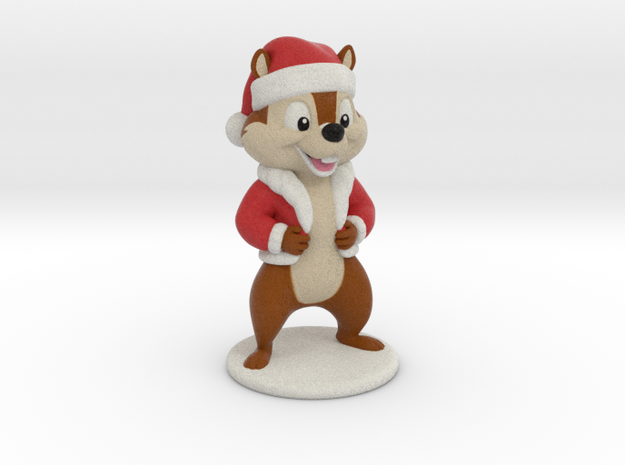 Cartoon Chipmunk. 8cm in Full Color Sandstone