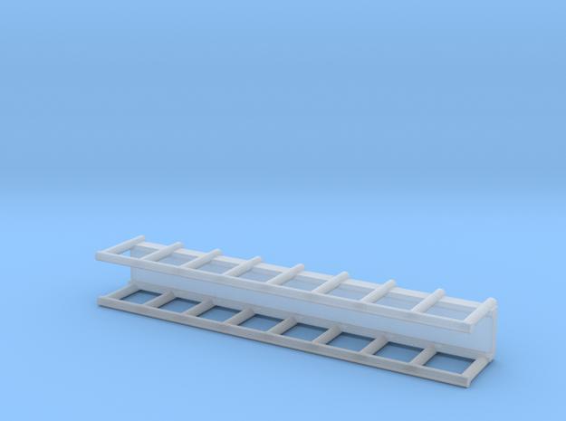N Scale 40mm Steel Walkway in Smooth Fine Detail Plastic