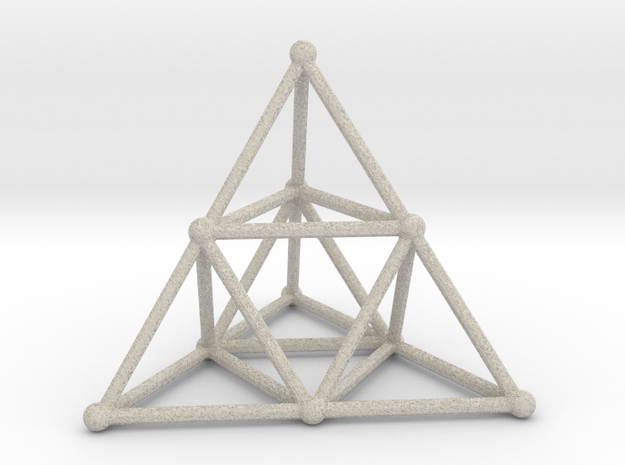 TETRAHEDRON (stage 2) in Natural Sandstone