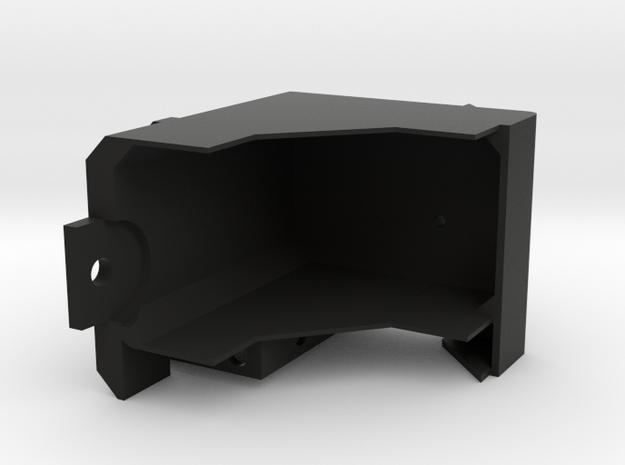 Bruder Delta Loader: Battery and boom mount in Black Natural Versatile Plastic