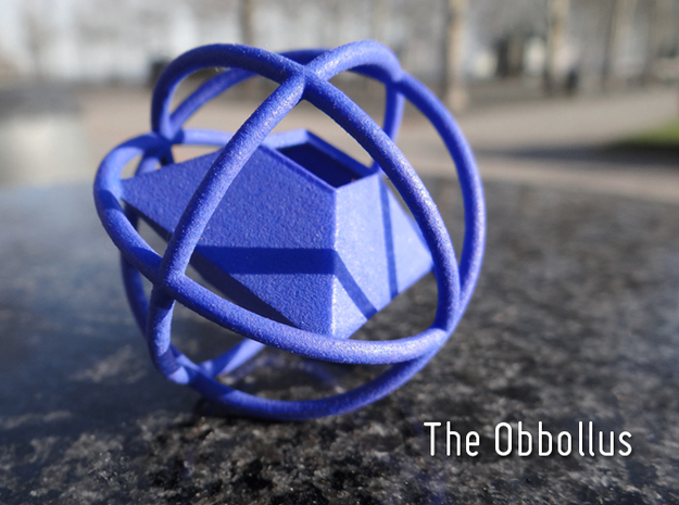 The Obbollus in Blue Processed Versatile Plastic