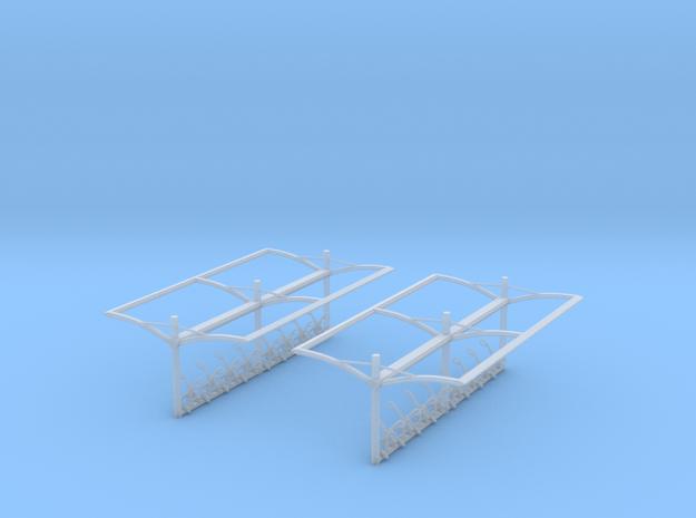 NS Fietsenstalling 2st. (1:87) in Smooth Fine Detail Plastic