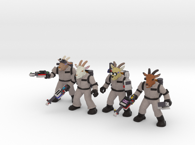 Ghoatbusters, Set of All Four (Sandstone)