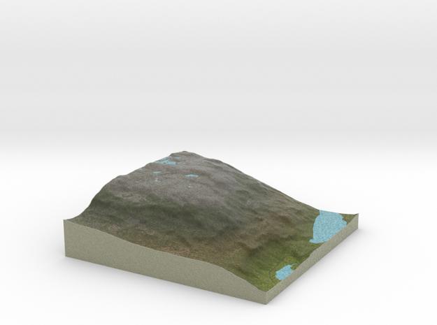 Terrafab generated model Mon Dec 29 2014 23:16:53  in Full Color Sandstone