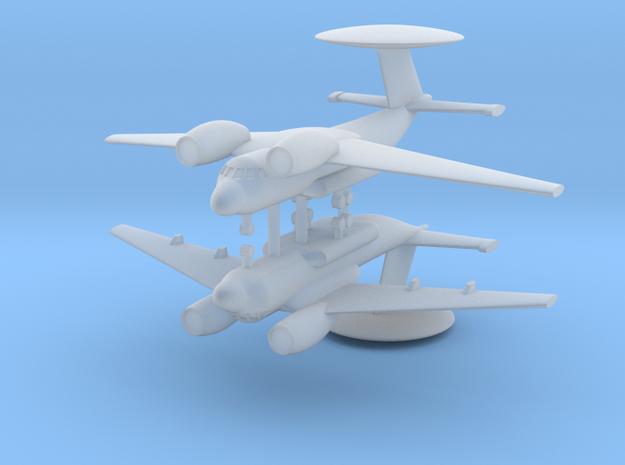 1/700 Antonov An-71 MADCAP (x2) in Smooth Fine Detail Plastic