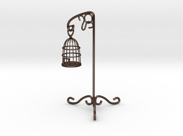 Birdcage 1/12 in Polished Bronze Steel