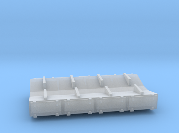 PRR 3 ton Ice Bunker/Sump (1/160) in Frosted Ultra Detail