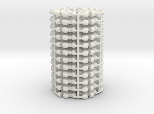 Mesh Mk2 in White Natural Versatile Plastic