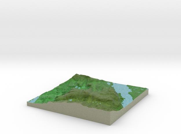 Terrafab generated model Wed Dec 31 2014 14:25:37  in Full Color Sandstone