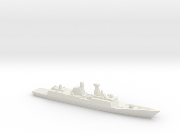 Type 054A 1/1800 in White Natural Versatile Plastic