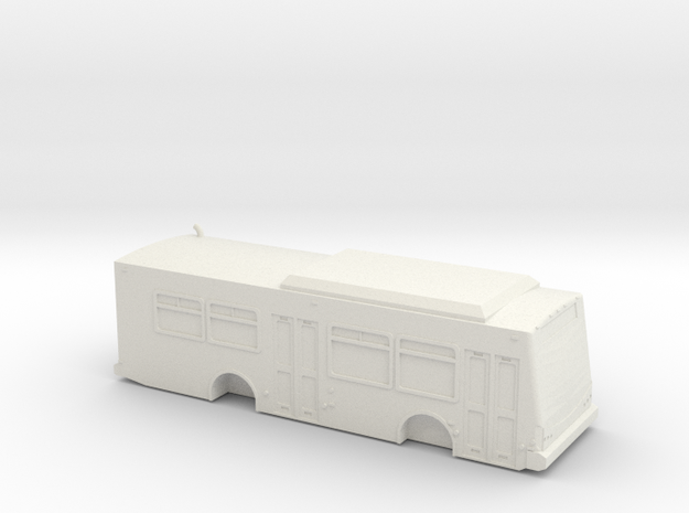 ho scale eldorado e-z rider ii max bus in White Natural Versatile Plastic