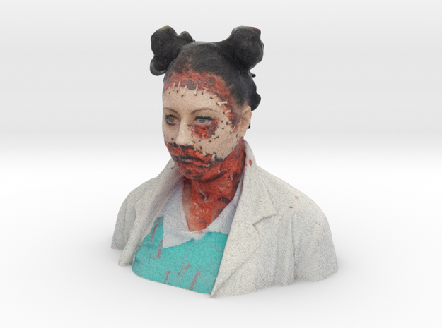 ZOMBIE 8 FACELESS NURSE in Full Color Sandstone