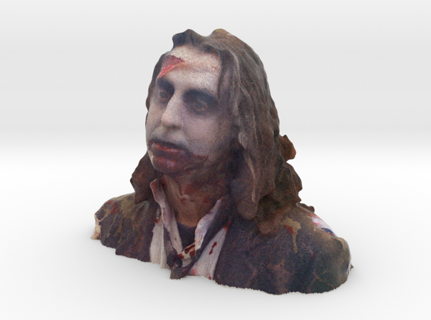 Zombie 14 Alice in Full Color Sandstone