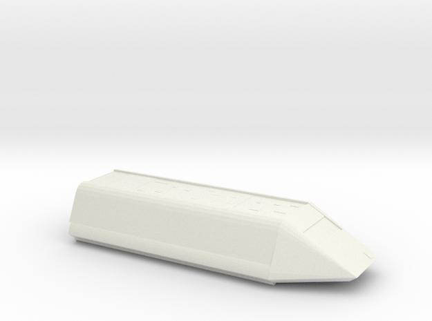 Shuttle 1/72 Scale in White Natural Versatile Plastic