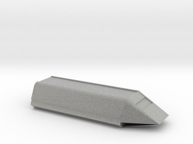 Shuttle 1/1000 Scale in Metallic Plastic