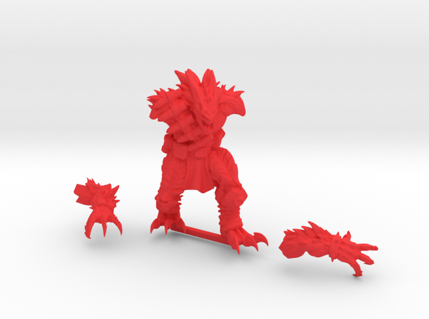 Kurgan in Red Strong & Flexible Polished