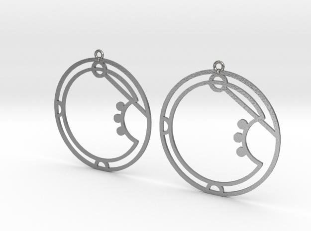 Aria - Earrings - Series 1 in Raw Silver