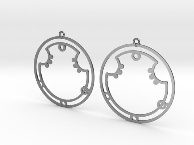 Aurora - Earrings - Series 1 in Premium Silver