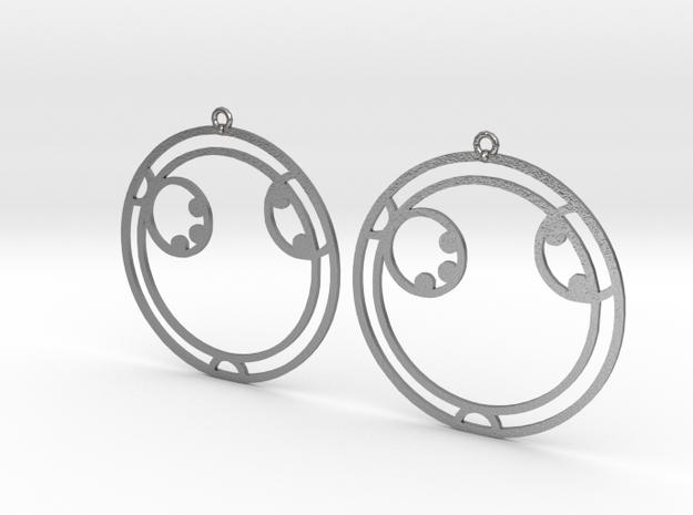 Ayla - Earrings - Series 1 in Natural Silver