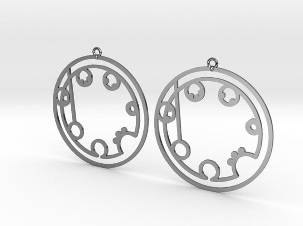 Brooklyn - Earrings - Series 1 in Premium Silver