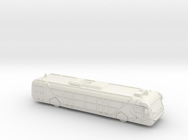NEOPLAN N9122l AIRPORT APRON BUS in White Natural Versatile Plastic