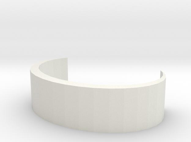 Simple Bracelet in White Strong & Flexible