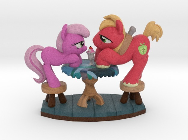 2015 Special Edition - Hearts & Hooves Day in Full Color Sandstone