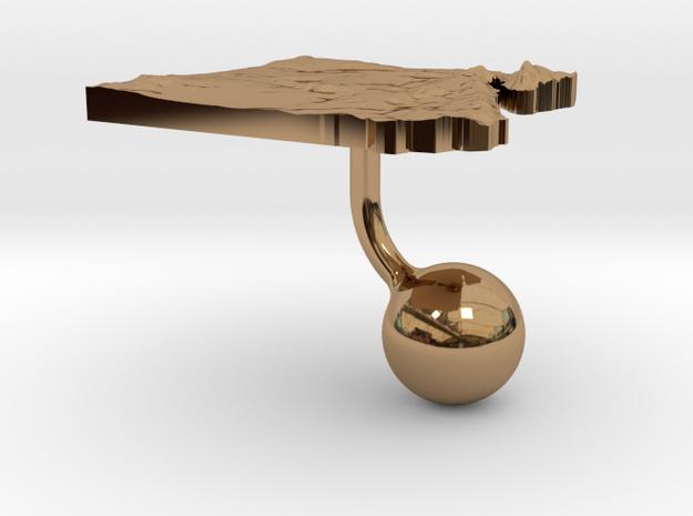 Egypt Terrain Cufflink - Ball 3d printed