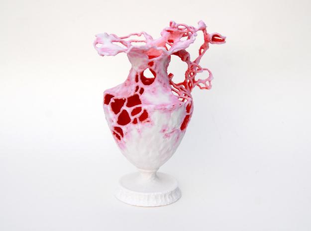 Floralia pink 3d printed