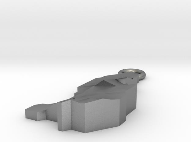 Liechtenstein Earring 3d printed