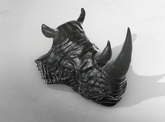 Rhino by Metal in Polished Grey Steel