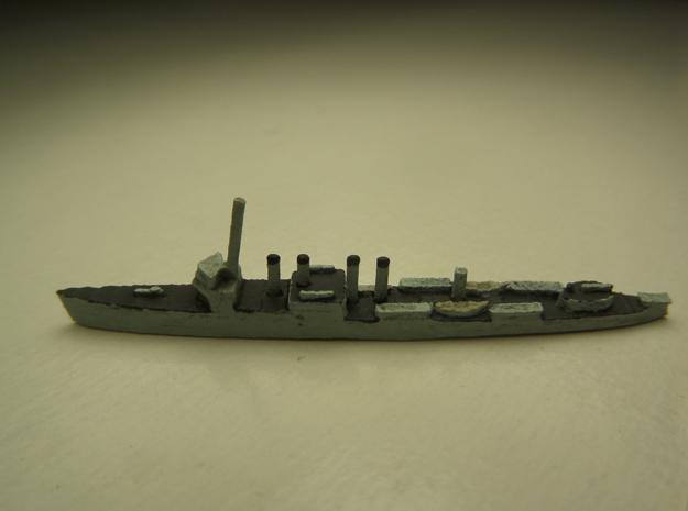 USS Ward (Wickes DD) 1:1800 3d printed Comes unpainted.