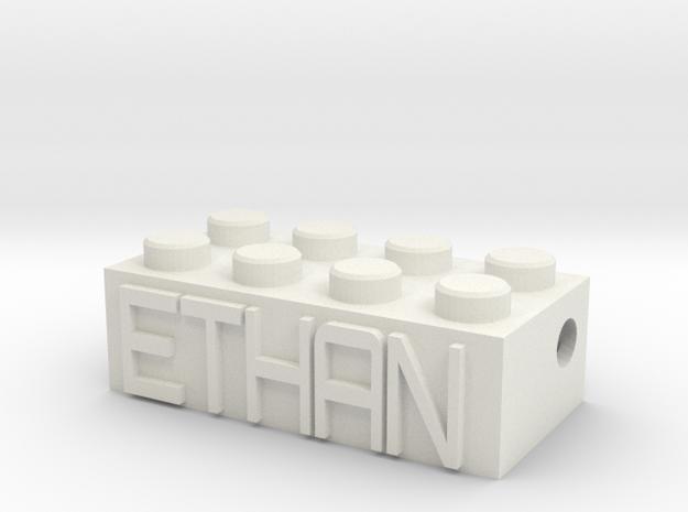 ETHAN in White Natural Versatile Plastic