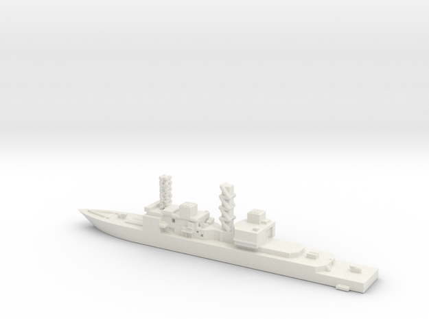 United States, Spruance class. in White Natural Versatile Plastic