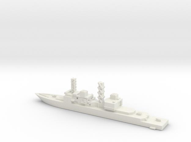 United States, Spruance class. in White Natural Versatile Plastic