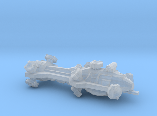 Digitorium Warp Bubble Beam Frigate in Smooth Fine Detail Plastic